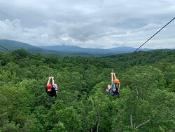 First time Zip Line
