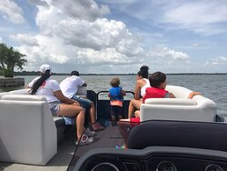 Exploring the chain of lakes is a fun filled family adventure aboard Living Water Cruises 😎🐊🇺🇸