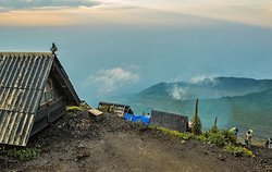 At The Top of Nyiragongo