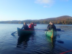 Canoieng n Coniston water Cumbria