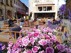 Terrasse de la place Pestalozzi
