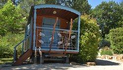 Gîtes Roulotte avec Terrasse privative