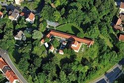 Luftansicht des APC-Parkgeländes I © Kulturamt Kempten