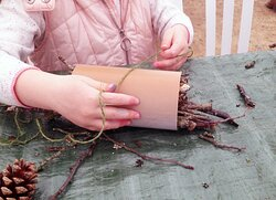 Interactive wildlife workshops are run each year for schools and the local community