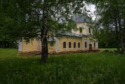 Церковь Иконы Божьей Матери Знамение 1770 Фасад