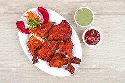 Signature Dish - Moti Mahal Invented   Tandoori Chicken