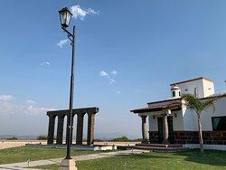Arco fuente Villas Mahando