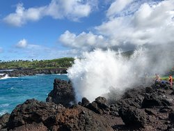 BLOW HOLE!