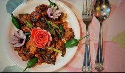 #Chilly Mashroom @Aaharam Restaurant