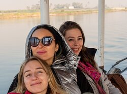 Beautiful moments sailing in the River Nile with GAT Tours