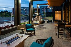 Unwind outside to experience the salt air from the Puget Sound.
