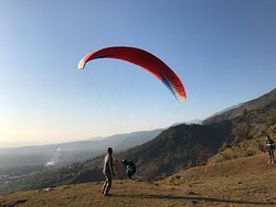 If you want something, you will need to earn it. If you are heading for paragliding sport, you need to hike up to the top, enroll, get the safety gear and the pilot, and then you need to catch the favorable wind to lift the glider up for flying.