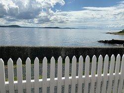 A view from the Villa Malla terrace