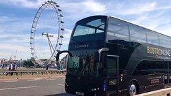 Bustronome London, gastronomic meal on a double-decker bus