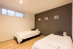 Apt C Bedroom 1.