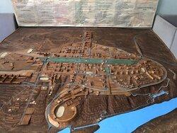 Макет города Пущино
