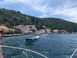 Fisherman's village Rose, Captain Ivan Boat Tours Kotor, Montenegro