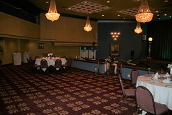 The Barnoff Room is where the Reception Room was help.