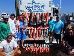 Huntress Charter Fishing