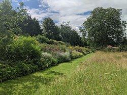 Beautiful borders at Nunnington Hall