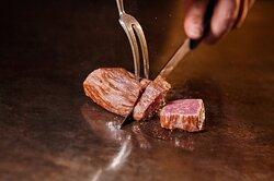 Teppan steak