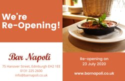 We are reopening on 23 July 2020