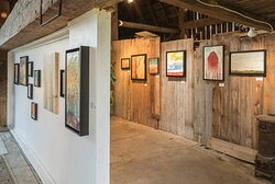 Andrew Csafordi BARN Gallery - featuring encaustic paintings by Andrew Csafordi. Also located on site is ANDARA Gallery featuring fine art photography by Tara Wilkinson. Located at  54 Wilson Road, northwest of the village of Bloomfield  and Huff Estates Winery in the heart of Prince Edward County, Ontario.