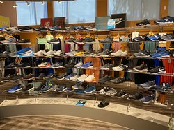One of our shoe displays