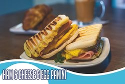 Our signature panini's, you can also add bacon and advocado to make it the perfect one