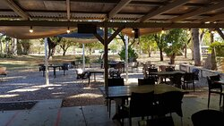 Best caravan park out of the 3 in Mataranka.