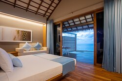 Sunset Water Bungalow with Jacuzzi