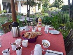 Petits déjeuners extérieurs - Terre en Vue La Rochelle