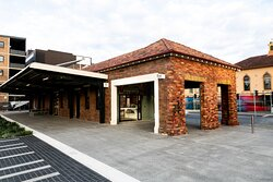 The Visitor Information Centre is located at the former Civic Station