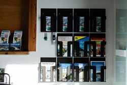 The Visitor Information Centre stocks a range of brochures