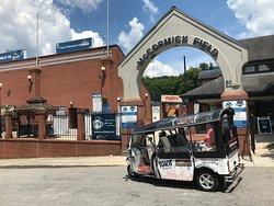 Tukit Tour Company at McCormick Field Asheville. Go Tourists.