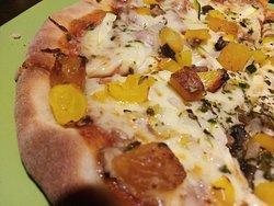 nuestra pizza