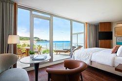 Chambre Excecutive vue Mer et Jardin entièrement rénovée en 2020