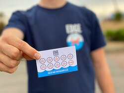 Grab one of loyalty cards from the team - just  collect 9 stamps and you'll get your 10th coffee FREE!