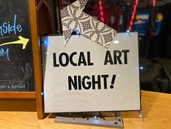 3rd Thursday Art Night! Happens every 3rd thursday! Come check out all the talent this small mountain town has to offer.