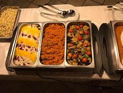 All you can eat lunch with Iranian and International foods, every workday (Mon-Fri) 11:30 - 14:00.