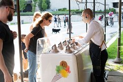 We offer one of the best ice creams in Sofia:)