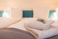 Einzelbetten oder Doppelbetten