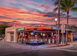 Johnnie Brown's is located on E Atlantic Ave. in the heart of Downtown Delray Beach.