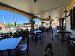 Relax on our front porch and enjoy the quaint atmosphere of downtown Moab.