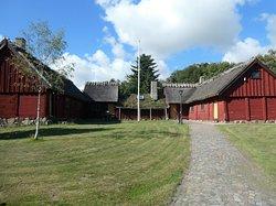 Hallarnas Hembygdsgård utanför Falkenberg