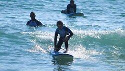Best surf experience in Nazaré, Portugal.