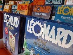La plus grande boutique de BD Léonard Génie de France, venez y découvrir des numéros exceptionnels...