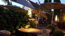 Garten/Restaurant
