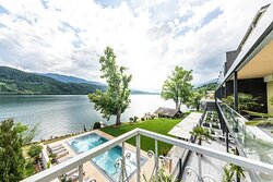 A spa hotel with a stunning location on the lake, every word superfluous.