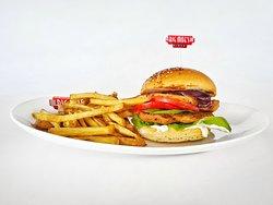 Big Moe's Chicken burger